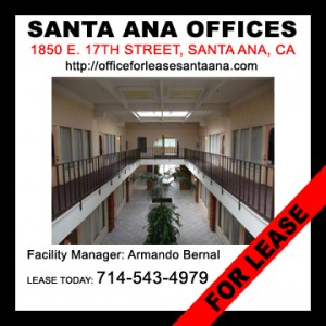 Find Santa Ana, California Office Space for Lease in Santa Ana